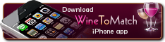 WineToMatch iPhone app